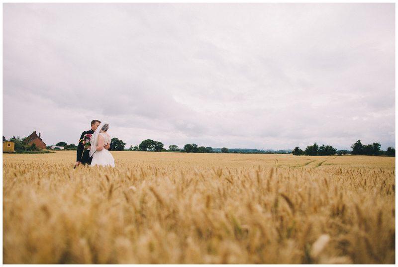 Shropshire Garden Wedding Photographer