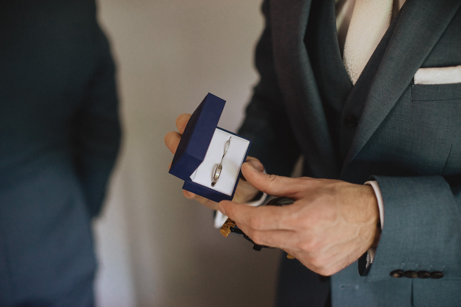 Scout Hut Wedding from Fox & Bear Photography - Wedding bands
