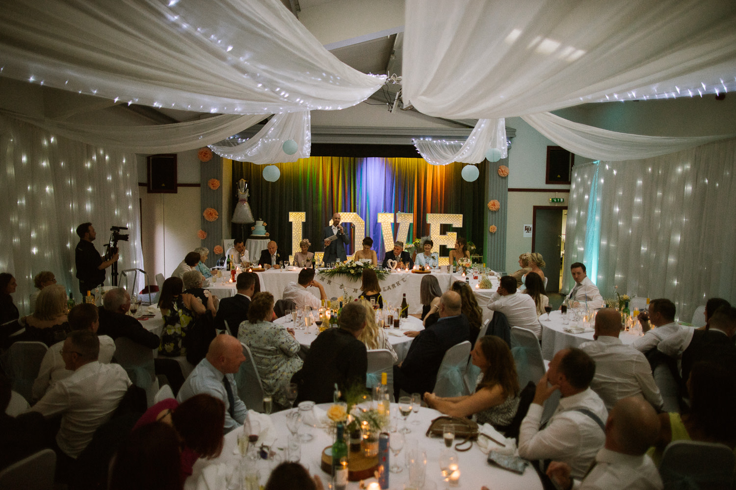 Scout Hut Wedding from Fox & Bear Photography - speeches