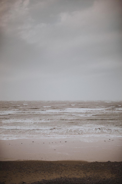 The sea at Newborough beach
