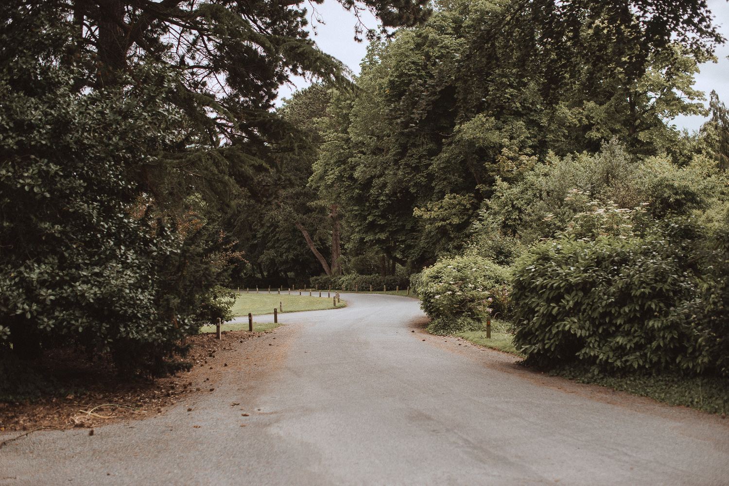 The drive at Inglewood Manor, Cheshire