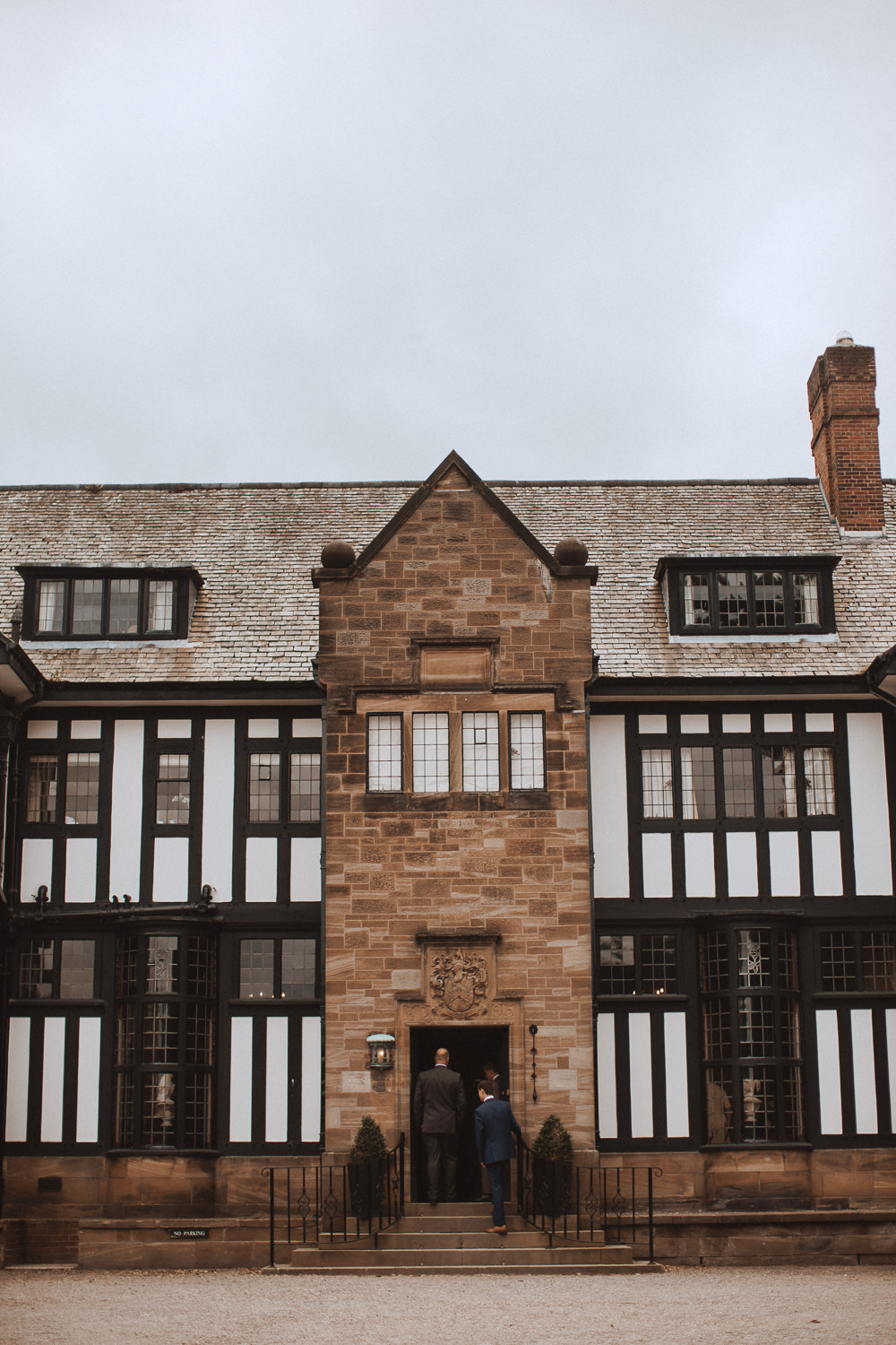 The back of the building at Inglewood Manor, Cheshire