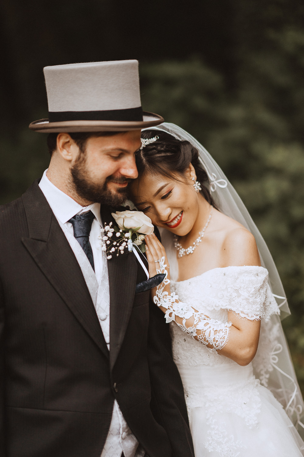 Nick and Ting at Inglewood Manor, Cheshire