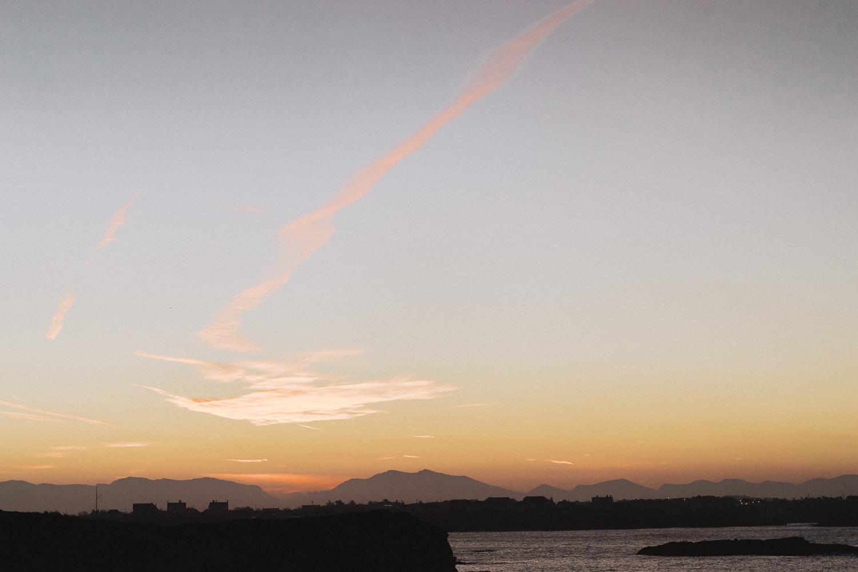 Sunrise at Trearddur Bay