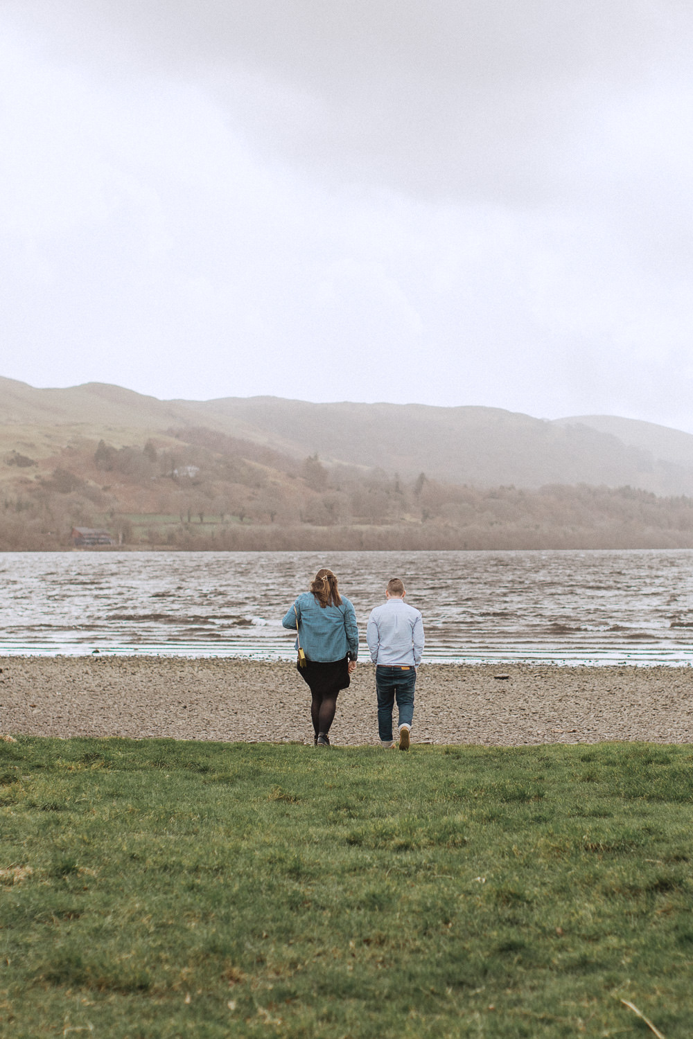 A surprise proposal at Bala lake