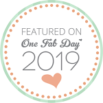 Feature badge for one fab day